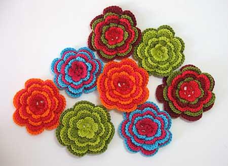 Flor de Croche fácil