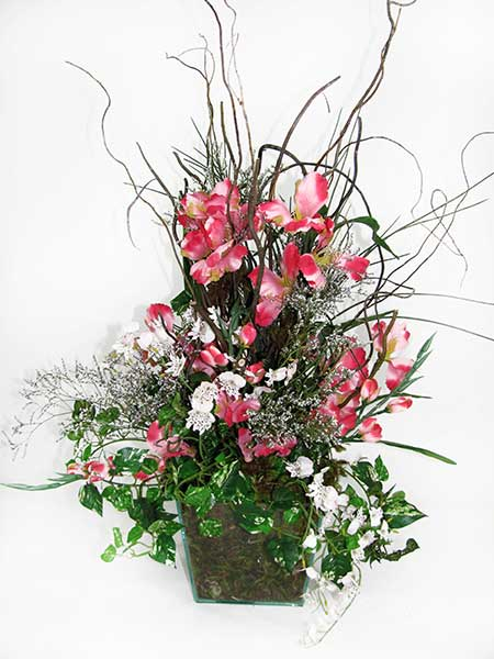 dicas de decoração com flores