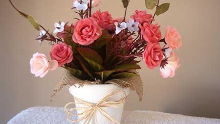 foto de flor artificial