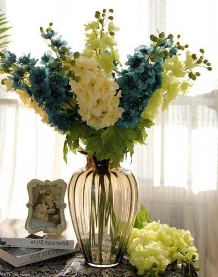 fotos de flores artificiais