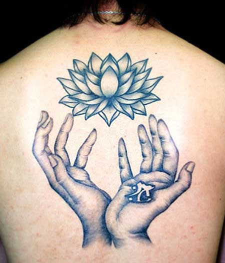 Tatuagem De Flor De L 243 Tus Fotos Dicas Imagens Tattoo