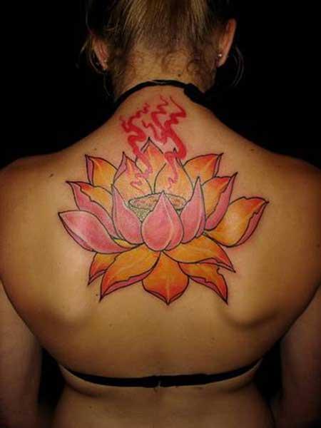 tatuagens de flor de lótus
