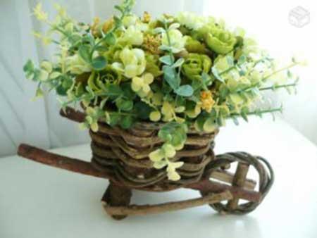 Como Fazer Arranjo de Flores Naturais