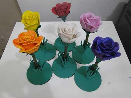 Como Fazer Flores Em Eva Passo A Passo Fotos E Tutorial