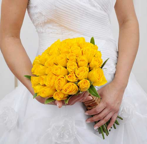 para as noivas casarem