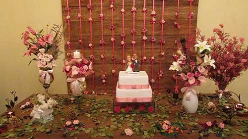 arranjo de casamento