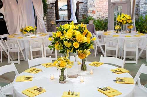 arranjos de flores para casório
