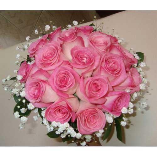 como usar buquê de rosas