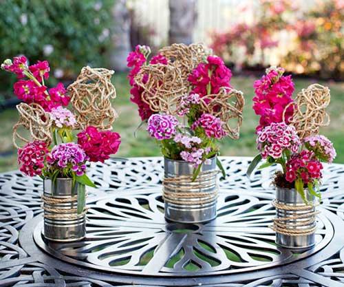 decorar ouro branco:Antes de escolher as flores que irão compor o arranjo de mesa para