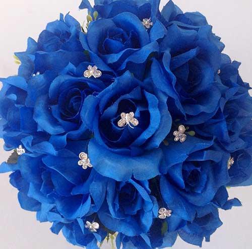 Populares Buquê Azul: Royal, Turquesa, Claro, Escuro, Fotos, Significado YO79