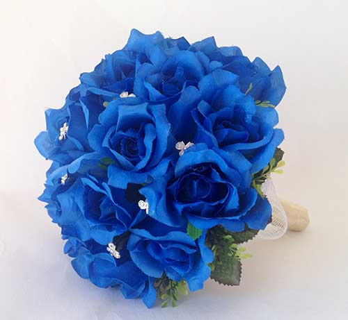 vários tons de azul