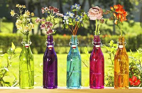 imagens de arranjos artificiais de flores