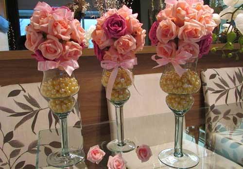 dicas de arranjos artificiais de flores