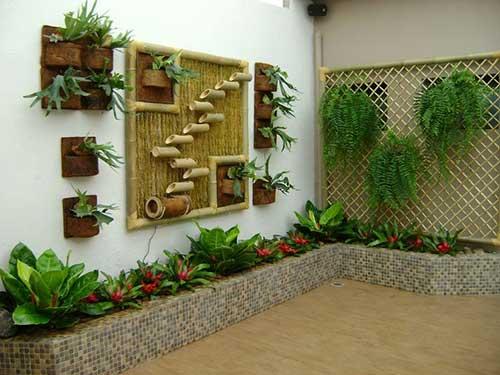 como fazer jardim